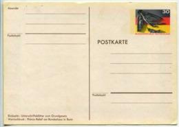Postcard Stationery (Flag) - [7] Federal Republic