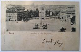 V 10723 Roma - Panorama Da Piazza Del Popolo - Piazze