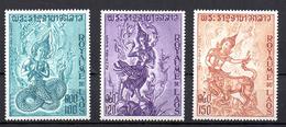 Laos YT PA 91-93 XX / MNH - Laos