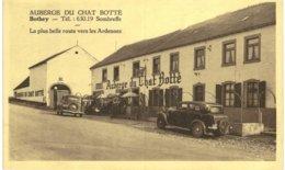 BOTHEY  Auberge Du Chat Botté La Plus Belle Route Vers Les Ardennes. - Sombreffe