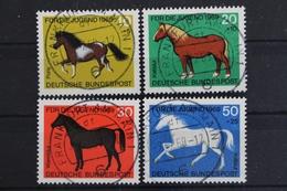 Deutschland (BRD), MiNr. 578-581, Zentrische Stempel - BRD