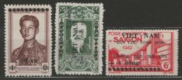 Vietnam Du Nord YT 49 + 51-52 (X) MNG - Viêt-Nam
