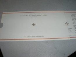 MENU' ACCADEMIA ITALIANA DELLA CUCINA 1989 - Menu