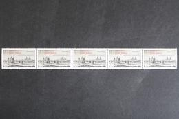 Deutschland (BRD), MiNr. 3138, 5er Streifen M. Zählnummer 195, Postfrisch / MNH - BRD