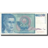 Billet, Yougoslavie, 500 Dinara, 1990, KM:106, TB+ - Joegoslavië