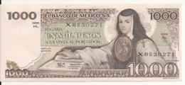 MEXIQUE 1000 PESOS 1979 AUNC P 70 C - Mexico