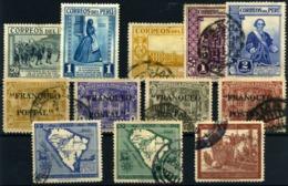 Perú Nº 307, 309, 340/2, 370/73, 378, 382, 385. Año 1935/42 - Peru