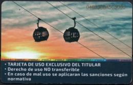 Bolivia 2018 Tarjeta Preferencial Prepago Teleferico (moderno Aerocarril ) Red De Integración Metropolitana. - Biglietti Di Trasporto