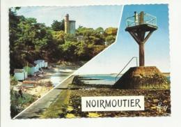 85 . ILE DE NOIRMOUTIER .PLAGE DE L ANSE ROUGE ET TOUR PLANTIER . PASSAGE DU GOIS . UNE BALISE - Ile De Noirmoutier