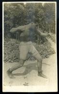 SPORT ökölvívás , Ökölvívó ,   Fotós Képeslap   /  SPORT Boxing Photo Vintage Pic. P.card - Boxing