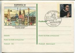 Postcard Stationery (Albertus Magnus) - [7] République Fédérale