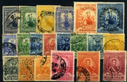 Perú Nº 94/99, 106/18. Año 1895/99 - Perú