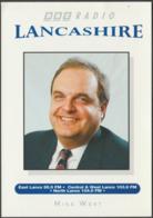 Mike West, BBC Radio Lancashire, C.1990s - Publicity Card - Advertising
