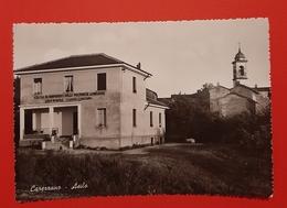 Cartolina Carezzano - Asilo - 1960 - Alessandria