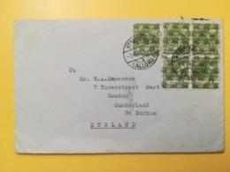1948 BUSTA GERMANIA DEUTSCHE OCCUPAZIONE BOLLO SOVRASTAMPATO OVERPRINTED CORNO POSTALE ANNULLO OBLITERE'  GERMANY - Zona Anglo-Americana