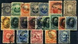 Perú Nº 76/91, 101/5. Año 1884/95 - Perú