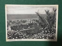 Cartolina Bordighera - Panorama - Riviera Dei Fiori - 1954 - Imperia