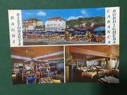 Cartolina Bagni Ristorante - Caranca Bordighera - 1969 - Imperia