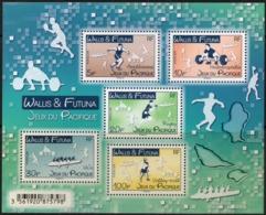 Wallis Et Futuna 2019 - Jeux Du Pacifique, Rugby, Athlétisme, Haltérophilie, Volley - BF Neuf // Mnh - Unused Stamps