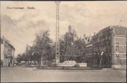 Breda // Mauritsstraat 1914 Militair - Breda
