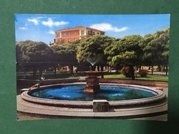 Cartolina Crema - Giardini Pubblici - La Fontana - 1966 - Cremona