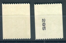 Variété N° Yvert 3458,1 Exemplaire Avec N° Noir + 1 Sans, Neufs Luxe - Prix Fixe - Réf V 784 - Variétés Et Curiosités