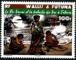 Wallis Et Futuna 2019 - Histoire, Le Roi Vanai Et La Bataille De Vai à Futuna - Neuf // Mnh - Wallis-Et-Futuna