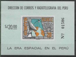 1969 PEROU BF 6** Télécommunications, Satellite - Pérou