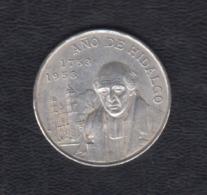 MÉXICO. AÑO 1953.-  5 PESOS PLATA. PESO 27,7 GR - México