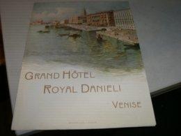 VOLANTINO GRAND HOTEL ROYAL DANIELI VENISE - Menu