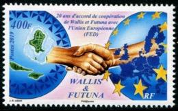 Wallis Et Futuna 2019 - 20 Ans Coopération Wallis Et Futuna Et Union Européenne - Neuf // Mnh - Wallis-Et-Futuna