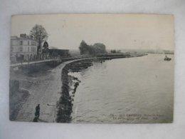 RIS ORANGIS - La Seine Prise Du Pont - Ris Orangis