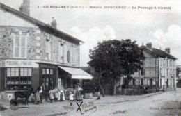 Le Guichet. Maison Huguenet. Le Passage à Niveau. - Autres Communes