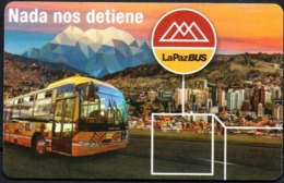 "Bolivia 2018 Tarjeta Prepago La Paz Bus ""Puma Katari"" Red De Transporte Municipal Metropolitana. - Autobus"