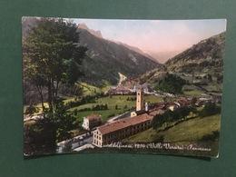 Cartolina Casteldelfino - Valle Varaita - Panorama - 1954 - Cuneo