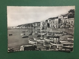 Cartolina Massa Lubrense - Spiaggia Marina Della Lobra - 1967 - Napoli (Naples)