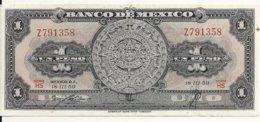 MEXIQUE 1 PESO 1959 XF+ P 59 E - Mexico