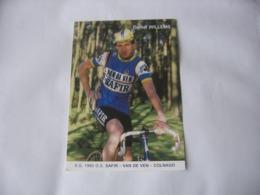 Cyclisme - Autographe - Carte Signée Daniel Willems - Cycling