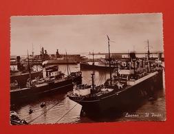 Cartolina Livorno - Il Porto - 1957 - Livorno