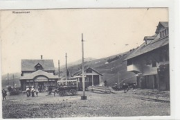 Wasserauen - Bahnhof Mit Zug & Kutschen - 1913          (P-191-70809) - AI Appenzell Rhodes-Intérieures