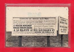 14-CPSM COURSEULLES SUR MER - GRAYE - Courseulles-sur-Mer