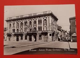 Cartolina Fidenza - Scorcio Piazza Garibaldi E Via Berenini - 1964 - Parma
