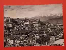 Cartolina Saluzzo - Panorama Col M. Viso M. 3841 - 1958 - Cuneo