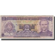 Billet, Honduras, 2 Lempiras, 2006-07-13, KM:80Ae, TB - Honduras