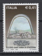 Italie. An 2002. TP Y&T N° 2592 **, MNH, Neuf(s). Cote Y &T 2012 :  1,25 € - 6. 1946-.. Republic