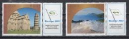 Italie. An 2002. TP Y&T N° 2599/600 **, MNH, Neuf(s). Cote Y &T 2012 :  3 € - 6. 1946-.. Republic