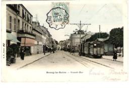 92 HAUTS De SEINE Tramway électrique Grande Rue à BOURG La REINE Carte Précurseur - Bourg La Reine
