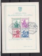 Jugoslawien - 1937 - Michel Nr. Block 1 - Gest. - 1931-1941 Kingdom Of Yugoslavia
