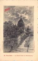 France Paris  Vieux Paris Le Sacré-coeur De Montmartre      Maggi   Barry 158 - Eglises