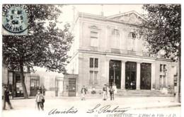 92 HAUTS De SEINE L'Hôtel De Ville De COURBEVOIE Carte Précurseur - Courbevoie